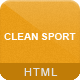 Clean Sport - Sport HTML Template - ThemeForest Item for Sale