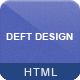 Deft Design - Light And Dark Responsive Template - ThemeForest Item for Sale