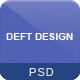 Deft Design - Light And Dark Template - ThemeForest Item for Sale