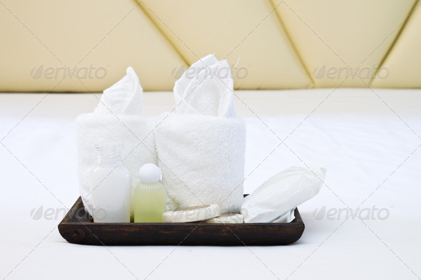 amenities kit - Stock Photo - Images