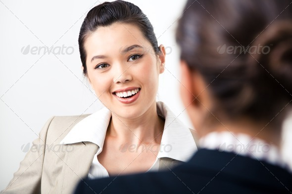 Speaking - Stock Photo - Images