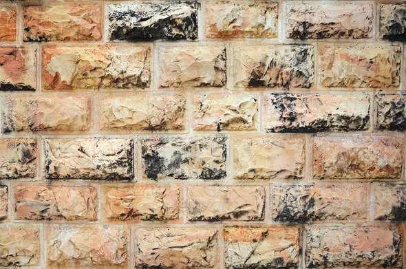 Background of stone wall texture - Stock Photo - Images