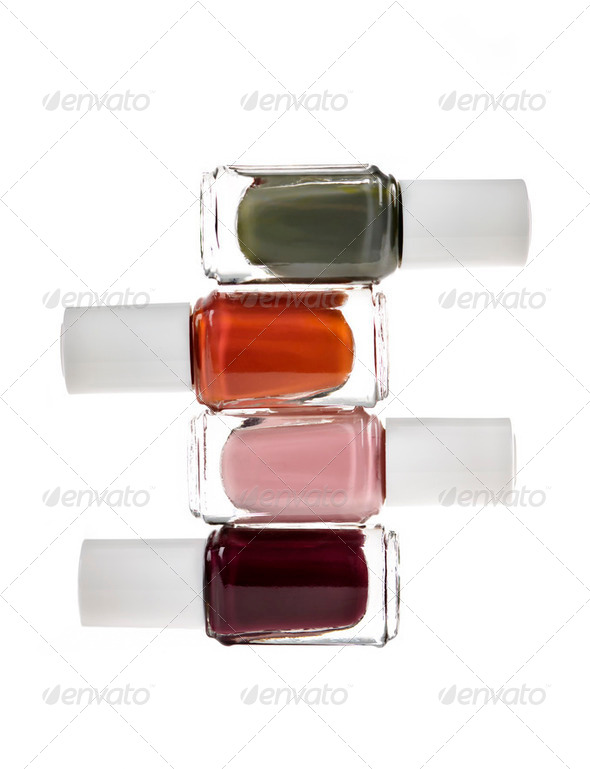 Nail polish bottles - Stock Photo - Images