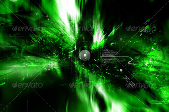 Digital technology  background - Stock Photo - Images