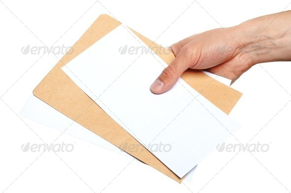 blank envelope - Stock Photo - Images