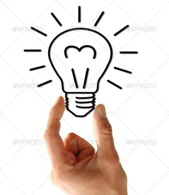 light bulb - Stock Photo - Images