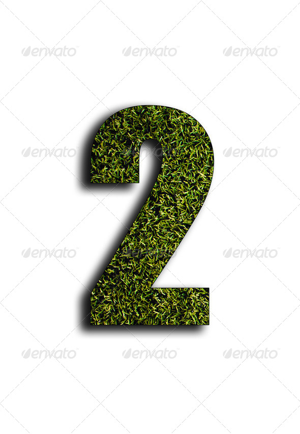Number two - Stock Photo - Images