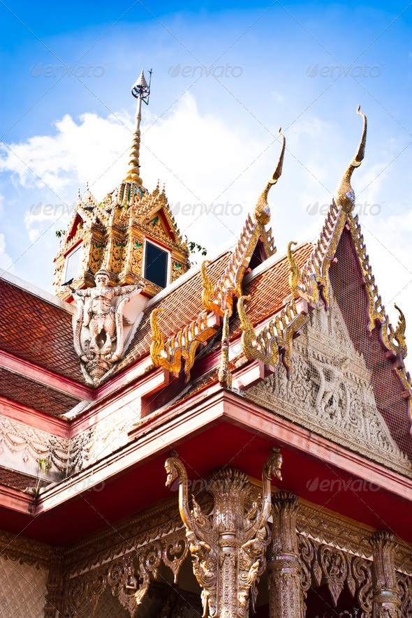 Temple in Thailand - Stock Photo - Images