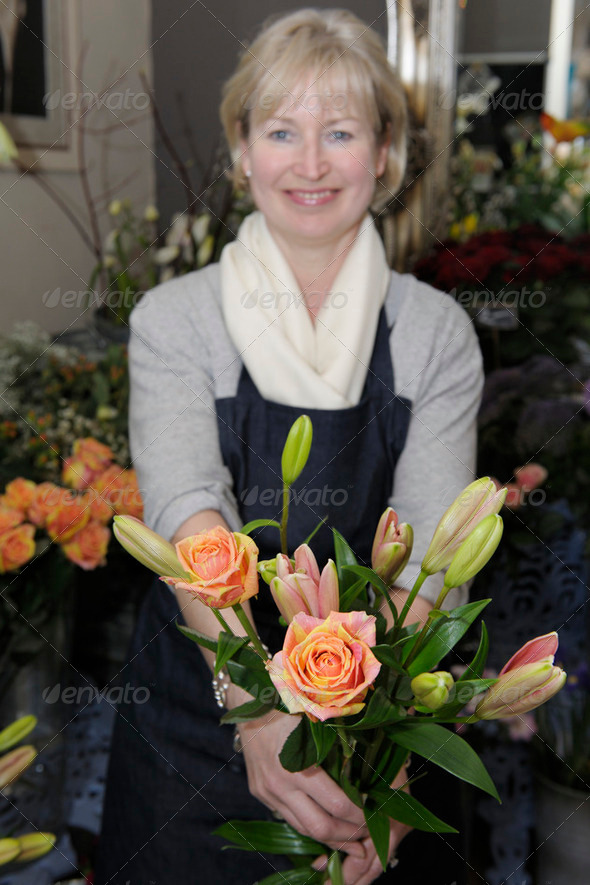 Florist - Stock Photo - Images