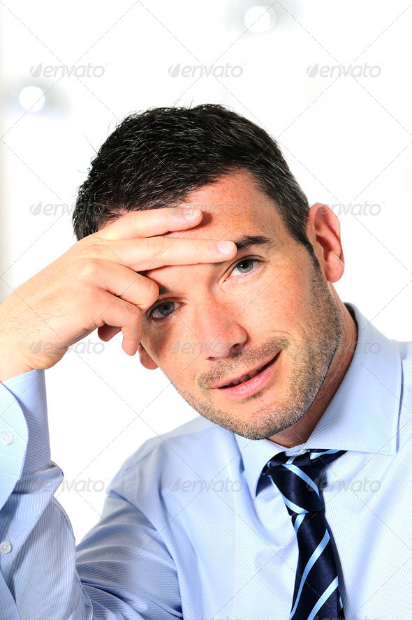 stressed and overbooked - Stock Photo - Images