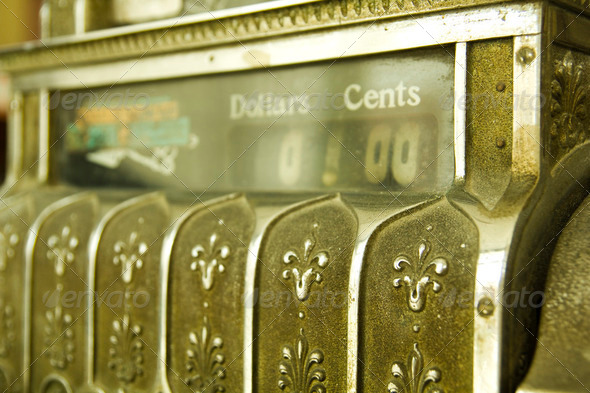 Cash register. - Stock Photo - Images