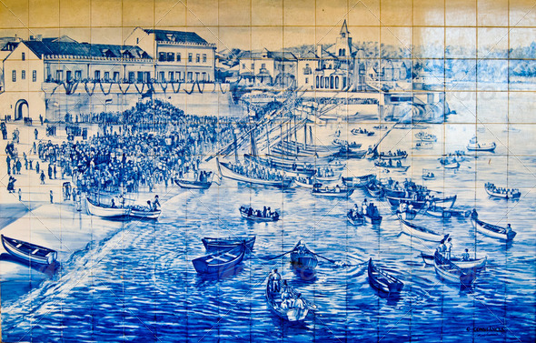 Mosaic of Estoril - Stock Photo - Images