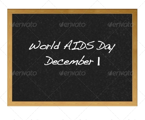 World Aids day. - Stock Photo - Images