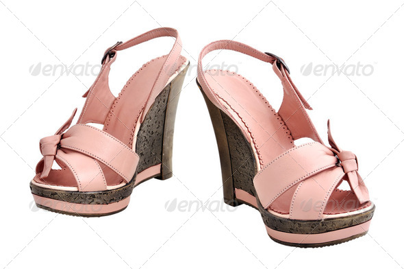 ladies shoes - Stock Photo - Images