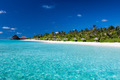 Tropical island with sandy beach and pristine water - PhotoDune Item for Sale