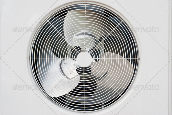 Industrial fan - Stock Photo - Images