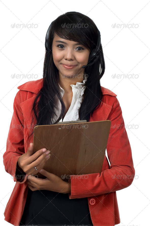 Asian Customer Service - Stock Photo - Images