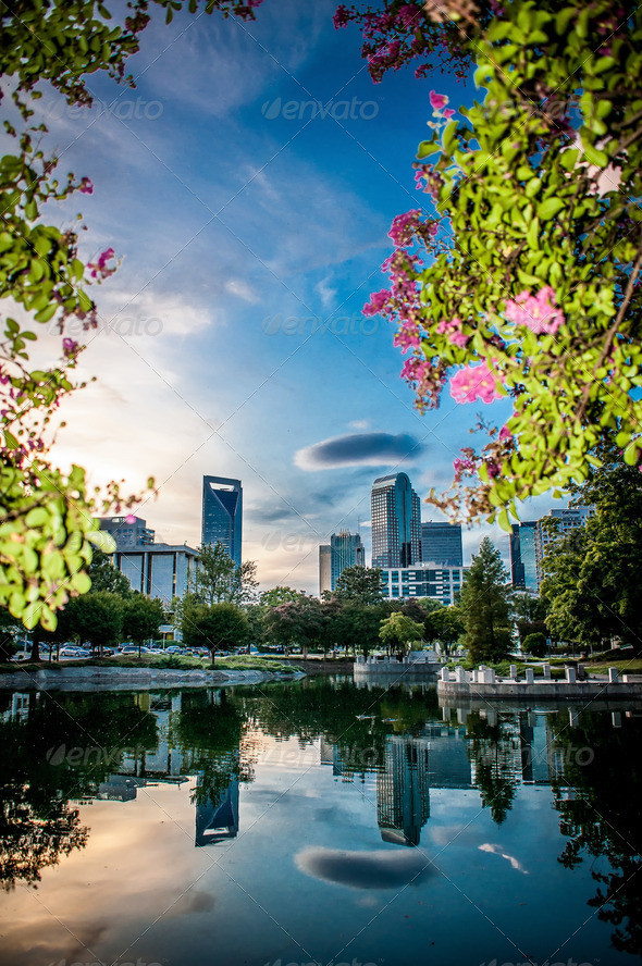 charlotte north carolina - Stock Photo - Images