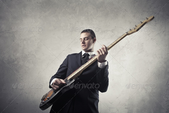 Guitarist - Stock Photo - Images