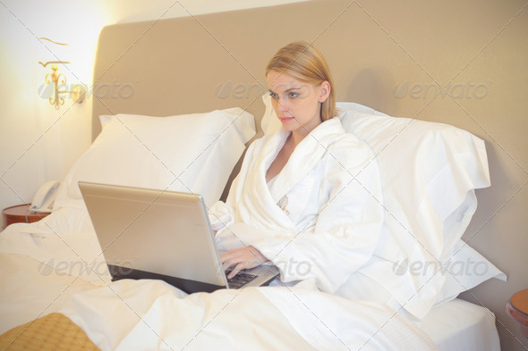 Relax after bathing - Stock Photo - Images