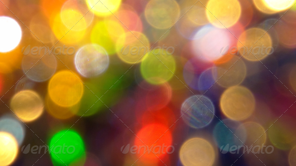 Romantic Holiday Bokeh - III - Stock Photo - Images