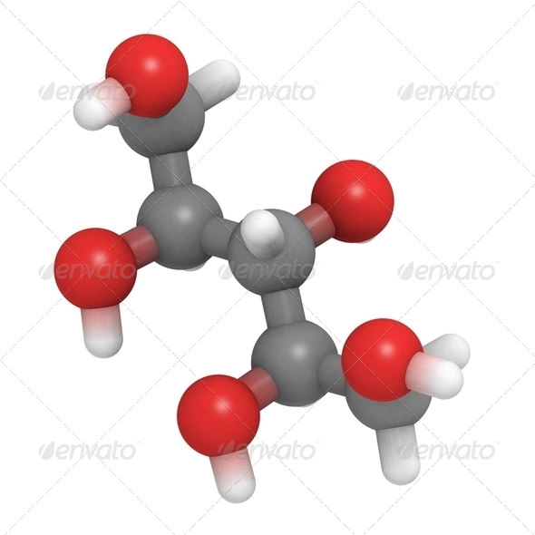 Xylitol molecule - Stock Photo - Images