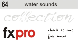 64. Water Sounds