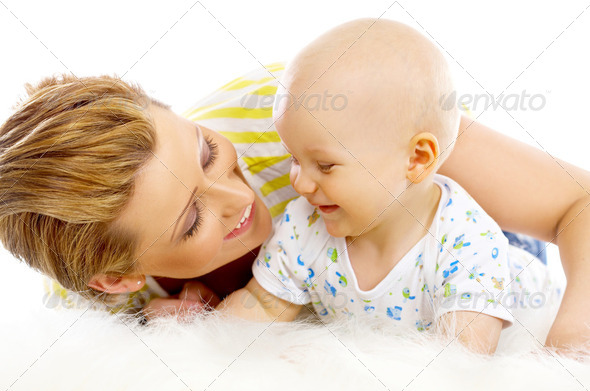 Mother and son - Stock Photo - Images