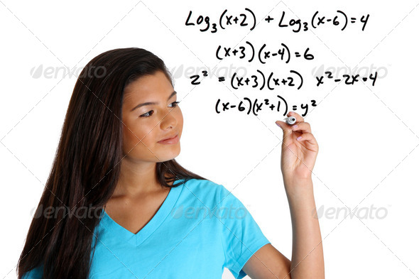 Math Student - Stock Photo - Images