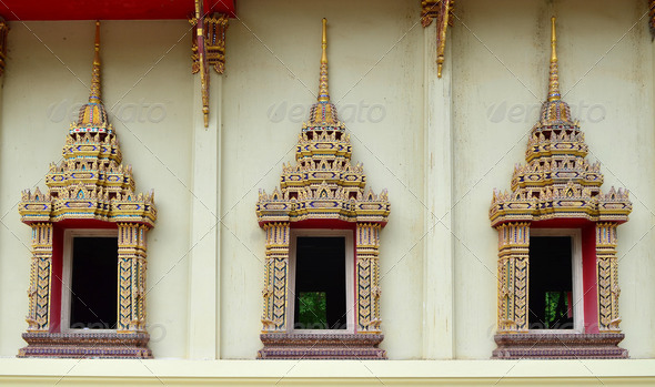Thai Temple - Stock Photo - Images