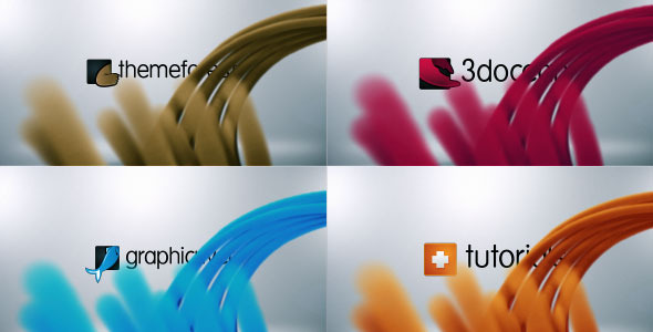 VideoHive Particles Stripes Logo Reveal 3346609