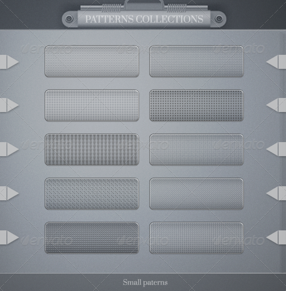 GraphicRiver 10 Small Pattern Pack 3346615