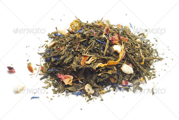 tea plants - Stock Photo - Images