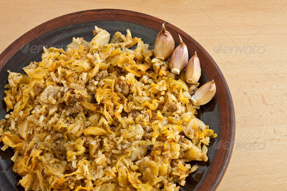 Bulgarian national dish - Stock Photo - Images