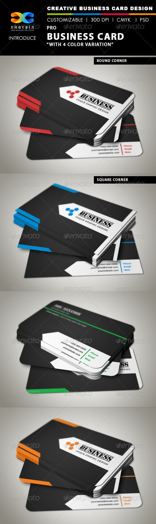 GraphicRiver Pro Business Card 3346736