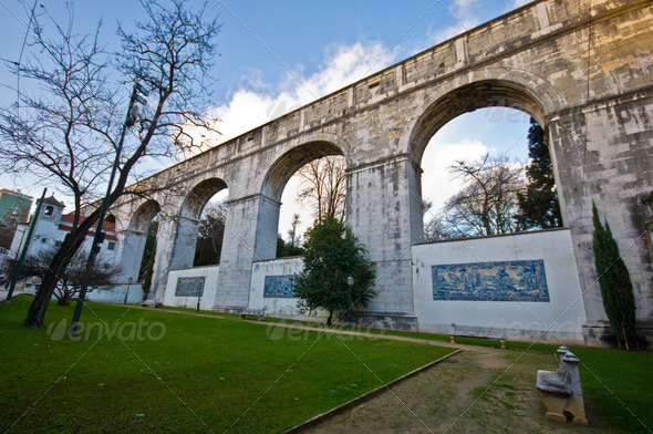Aquaduct - Stock Photo - Images