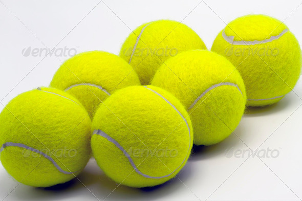 tennis balls - Stock Photo - Images