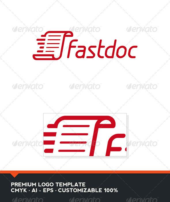 GraphicRiver Fast Doc Logo Template 3346912