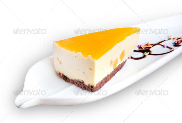 Cheese cake - Stock Photo - Images