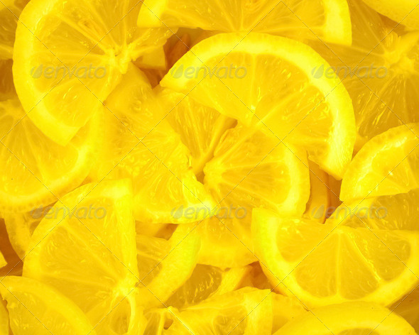 Lemon Slices - Stock Photo - Images