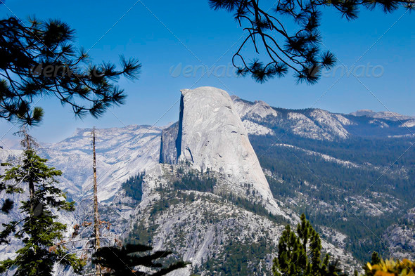 Half Dome - Stock Photo - Images