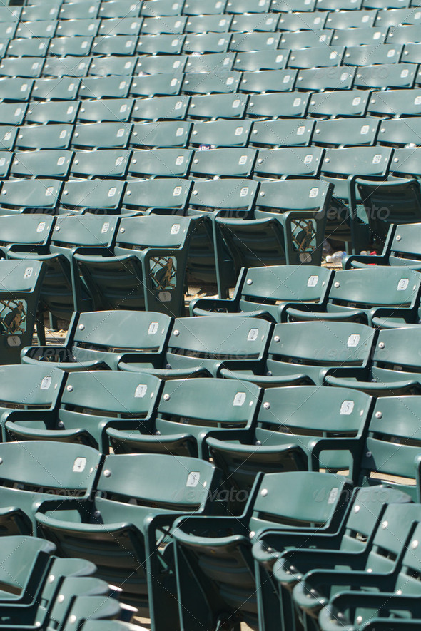 Stadium Seating - Stock Photo - Images