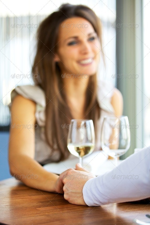 Couple Holding Each Other&#x27;s Hands - Stock Photo - Images