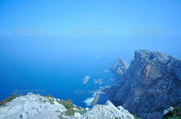 Cape, Asturias, Spain. - Stock Photo - Images