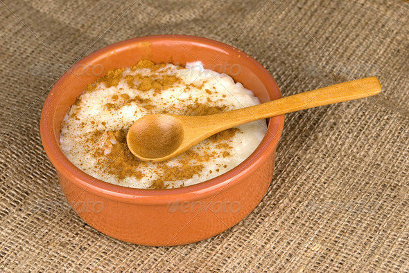 rice with milk - Stock Photo - Images
