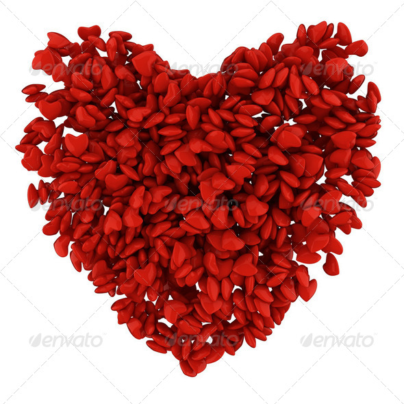 Big heart - Stock Photo - Images