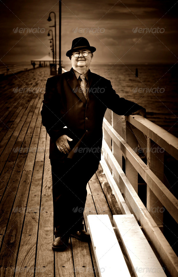 The Ferryman - Stock Photo - Images