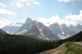 Canadian Rockies with peaks - PhotoDune Item for Sale