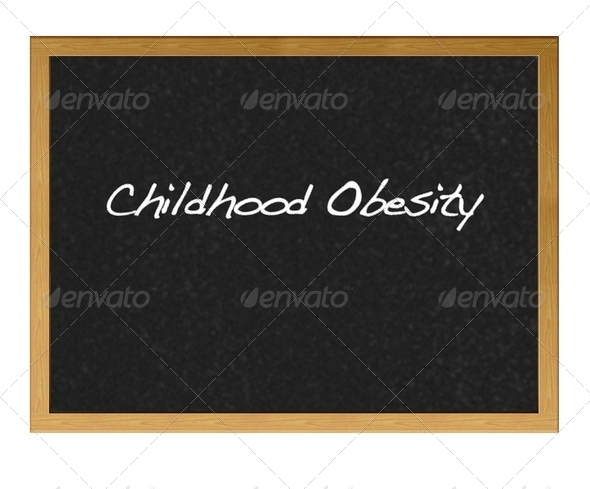 Childhood obesity. - Stock Photo - Images