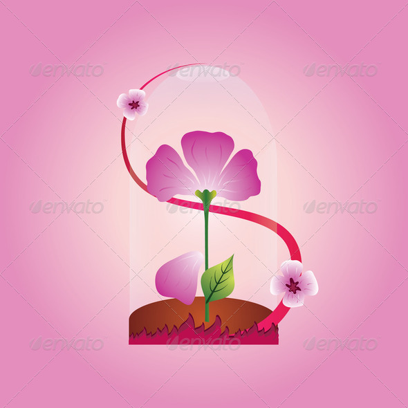 Purple flower - Stock Photo - Images